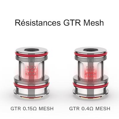 Résistances GTR pour le kit Forz TX80 Vaporesso